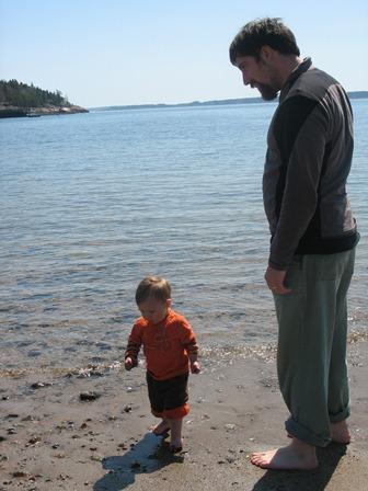 Ilija with Dad