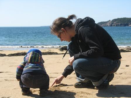 Ilija with Mom
